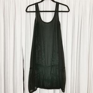 NWOT Sympli Nylon Mesh Over Dress